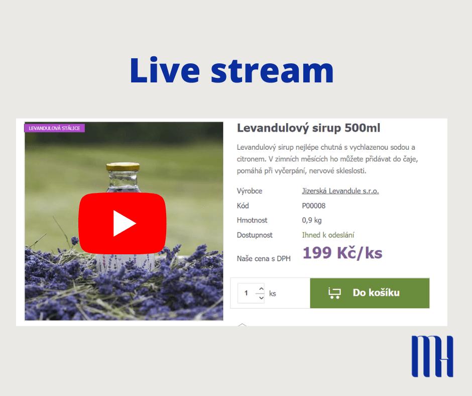 livestream pro e-shopy